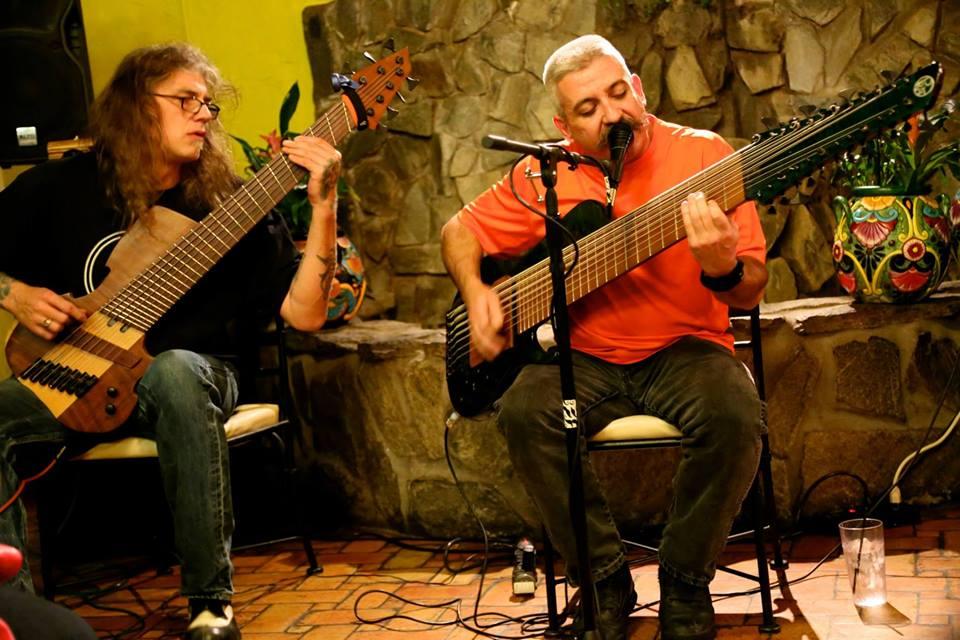 David Meidinger & Christopher Cardone Lo-Up Solo Bass Showcase NAMM 01.24.14byAaronGibson